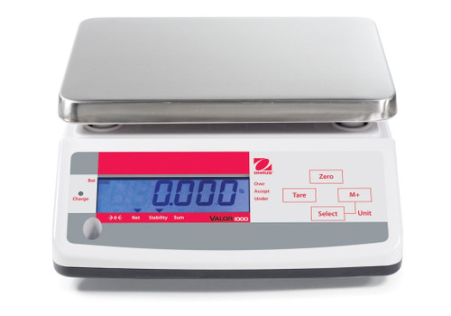 OHAUS V11P30 Valor 1000 Compact Food Scale 66 x 0.01 lb