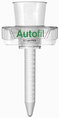 Autofil High Flow Vacuum FIlter, Full Assembly, 15ml,0.1um PES, 146-4113-RLS