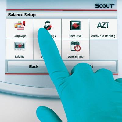 OHAUS STX421 Scout STX Touchscreen Portable Balance 420 g x 0.1 g