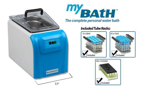 Benchmark Scientific B2000-4 MyBath 4L Digital Water Bath