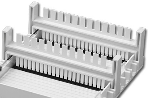 Accuris E1101-COMB2 18/10 Teeth Reversible Casting Combs