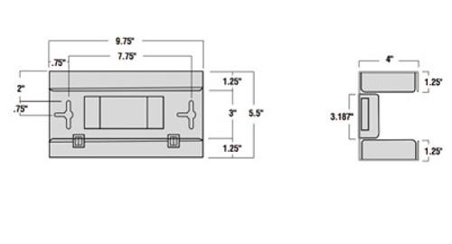 Pegboard Glove Box Dispenser