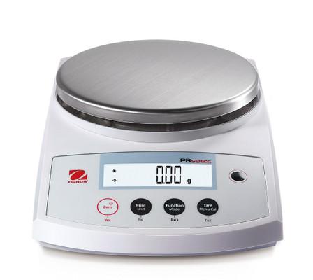 OHAUS PR6201N/E PR Series Precision Balance, 6200 g x 1 g, NTEP