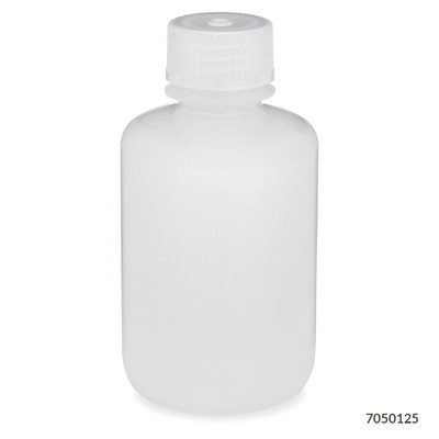 Globe Scientific 7050125 Narrow Mouth Round Bottles