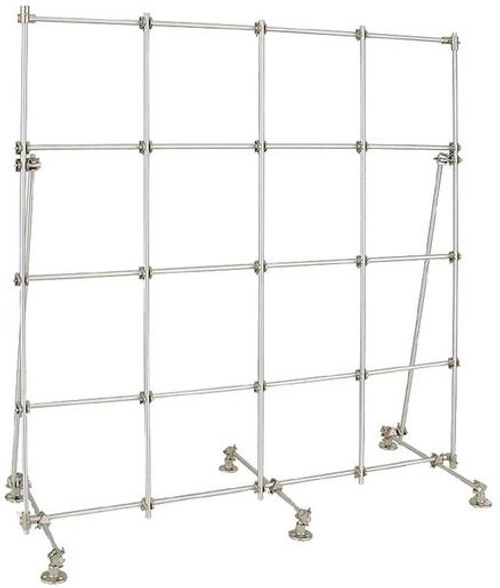 ohaus CLR-FRAMEAL aluminum lab frame