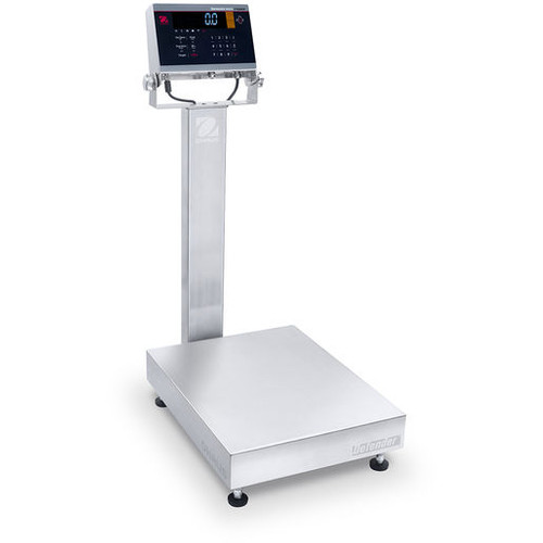 ohaus i-D61XWE150K1L7 defender 6000 stainless steel bench scale