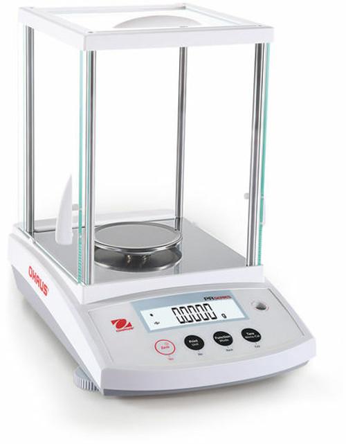 ohaus pr124 analytical balance