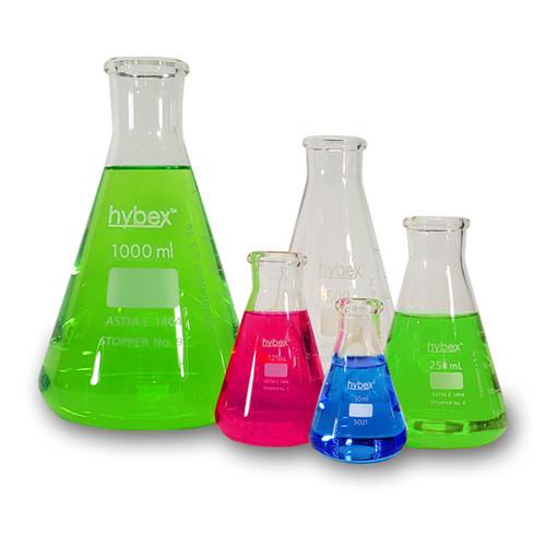benchmark scientific hybex erlenmeyer flasks