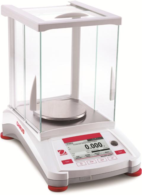 Ohaus AX523/E Adventurer Analytical Balance, 520 g x 1 mg