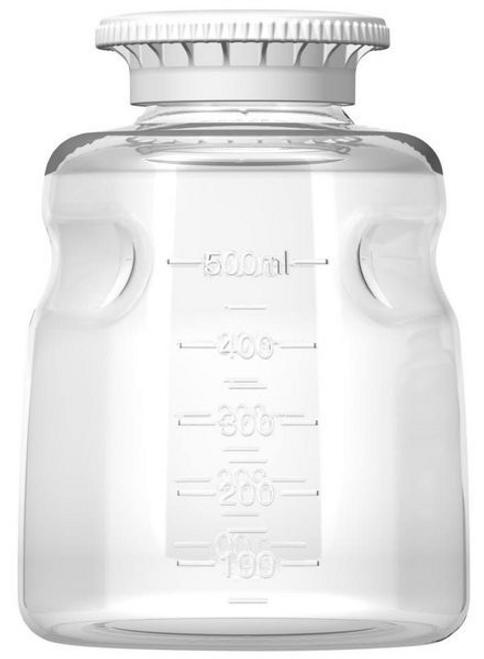 Autofil Media Bottle, 500 ml, PS, Non-Sterile, 116-5001-RLS