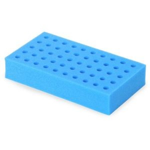 OHAUS 12mm Tube Rack for Vortex Mixers, Blue