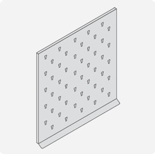 Barron Series Pegboards - 30x30 inches