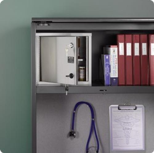 Narcotics Cabinet w/ Double Locking Single Door