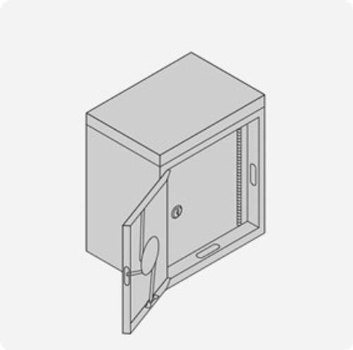 Double Door Cylinder Lock Cabinet - Small