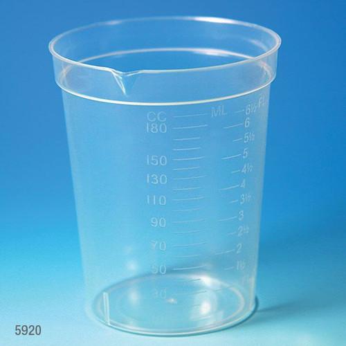 190 cc specimen collection cups