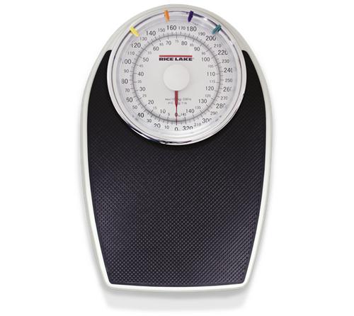 Rice Lake RL-330HHD Home Health Dial Scale, 330 lb x 1 lb / 150 x 0.5 kg