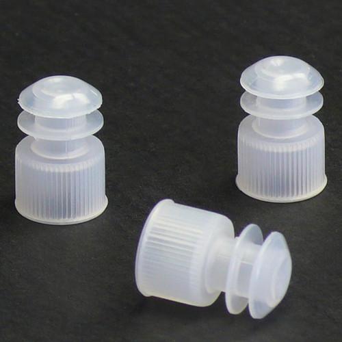 Flanged Centrifuge Tube Plug Caps - 15mm