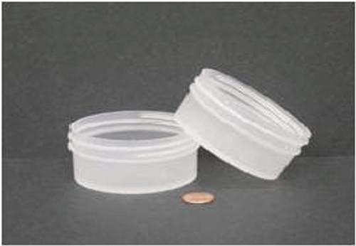Globe Scientific Polypropylene Storage Jar, 120mL, 89mm Opening