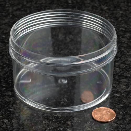 Globe Scientific Polystyrene Storage Jar, 180mL, 89mm Opening