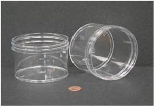 Globe Scientific Polystyrene Storage Jar, 240mL, 89mm Opening
