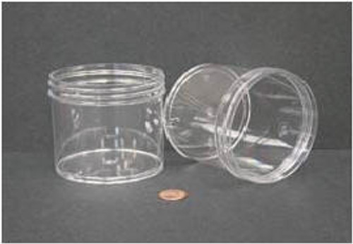 Globe Scientific Polystyrene Storage Jar, 360mL, 89mm Opening