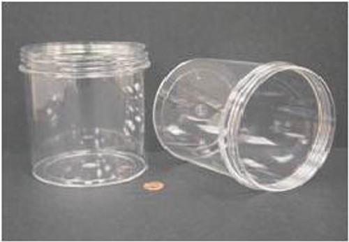 Globe Scientific Polystyrene Storage Jar, 1200mL