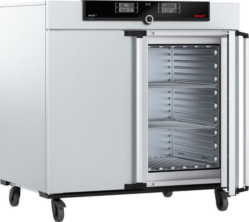 memmert un450 plus natural convection oven with twin display