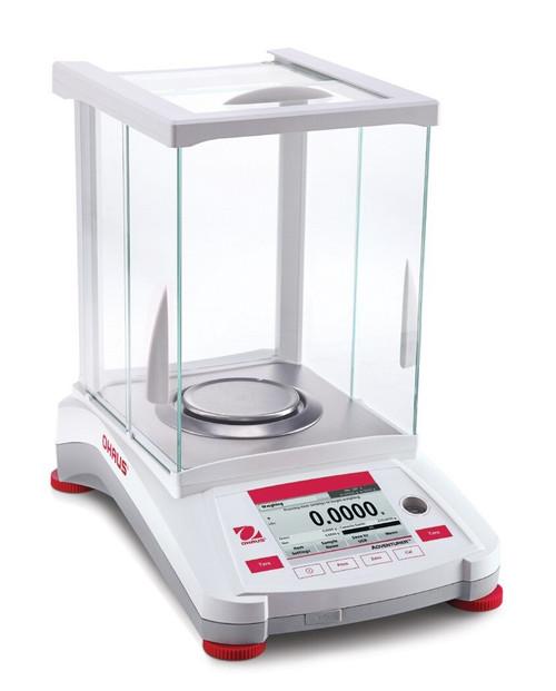 Ohaus AX124/E Adventurer Analytical Balance 120 g x 0.1 mg, External Cal