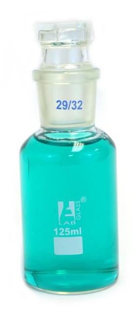 125ml glass reagent bottle