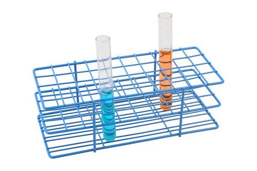 epoxy coated steel wire test tube rack