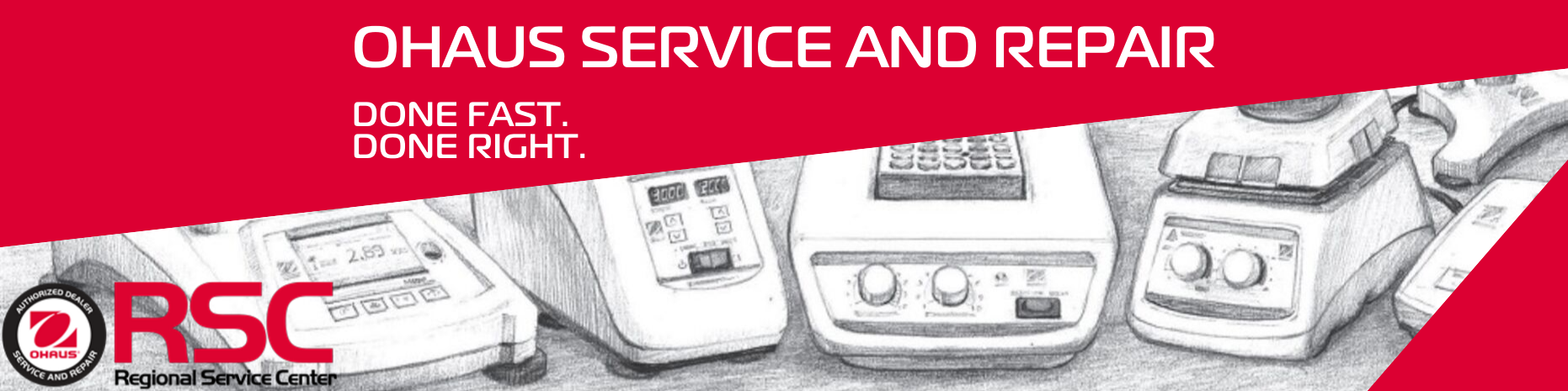 Authorized Ohaus Regional Service Center