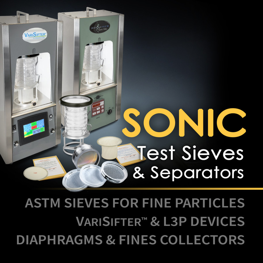 Sonic Sieves, Sifters & Supplies