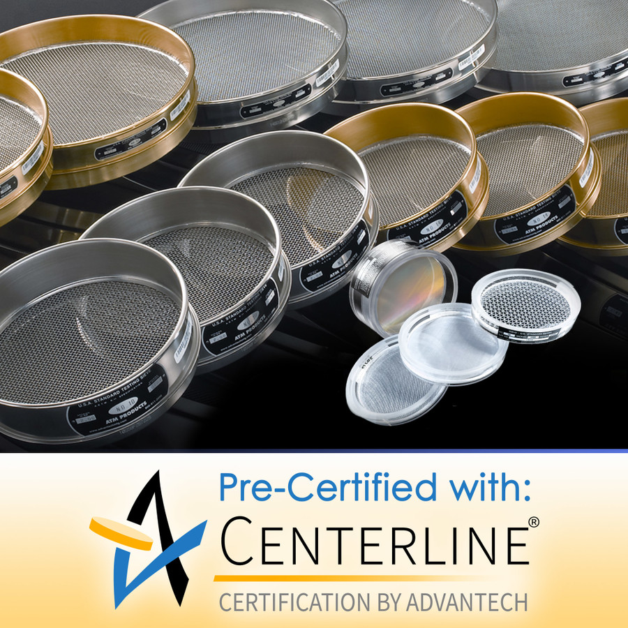 Pre-certified Test Sieves