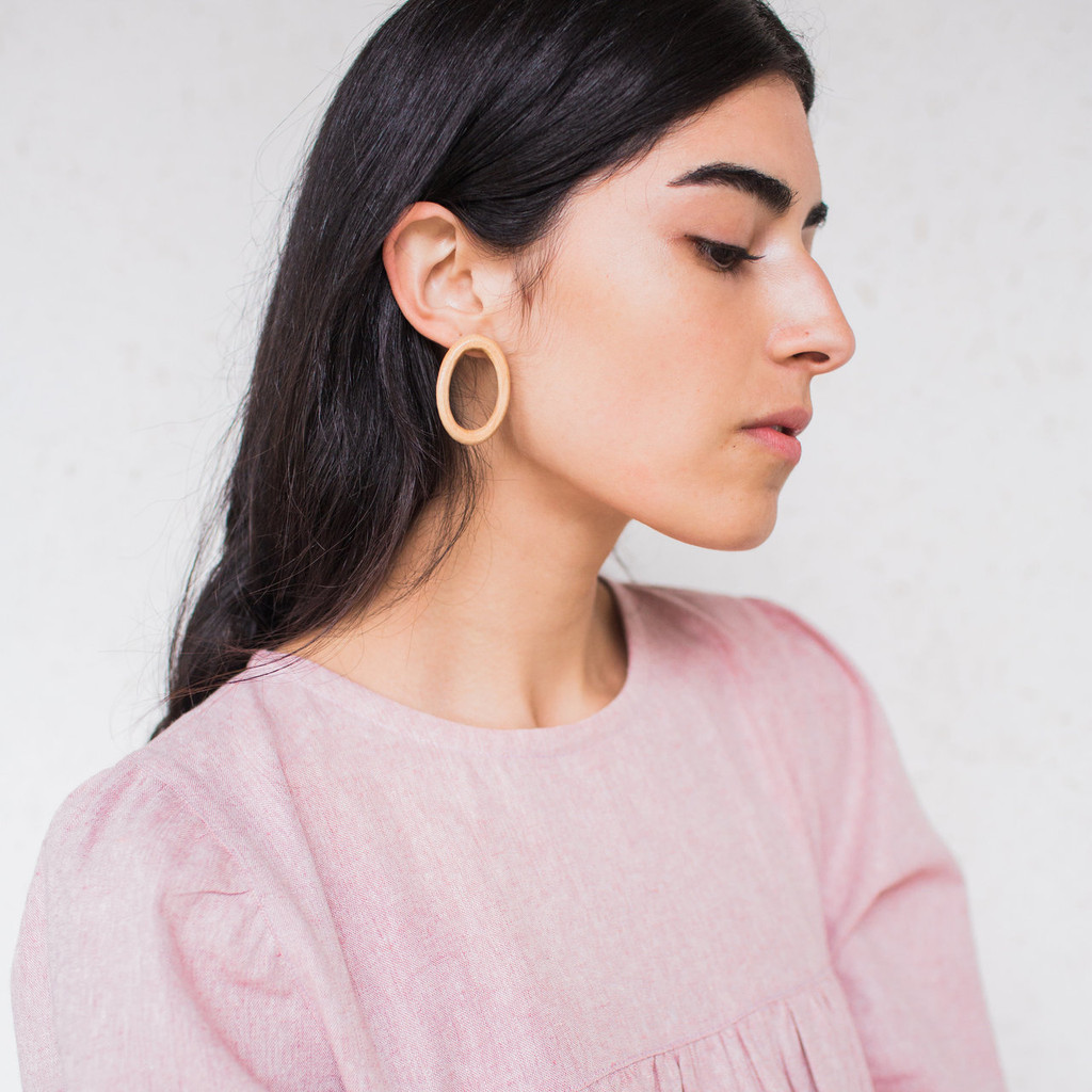 af00c6874d2c1 Sophie Monet : Minimal Ring Earrings