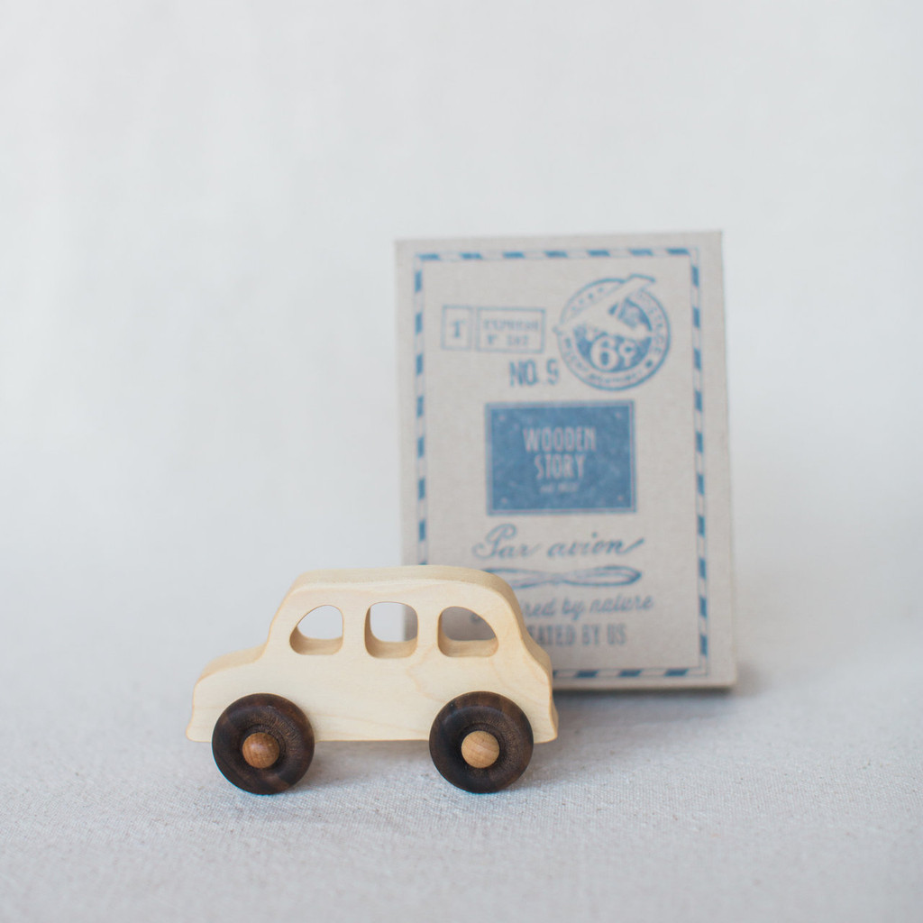 Wooden Story : Car English Taxi