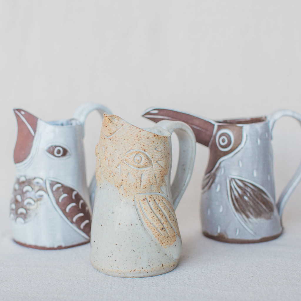 Knotwork LA : Bird Pitcher
