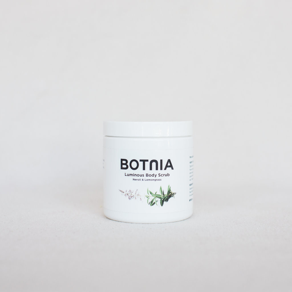 BOTNIA : Luminous Body Scrub Neroli & Lemongrass