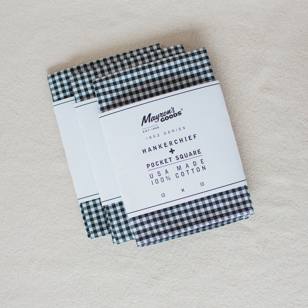 Mayron's Goods : Hankerchief + Pocket Square