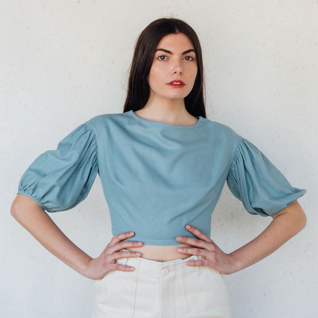 Town Clothes : Quince Blouse