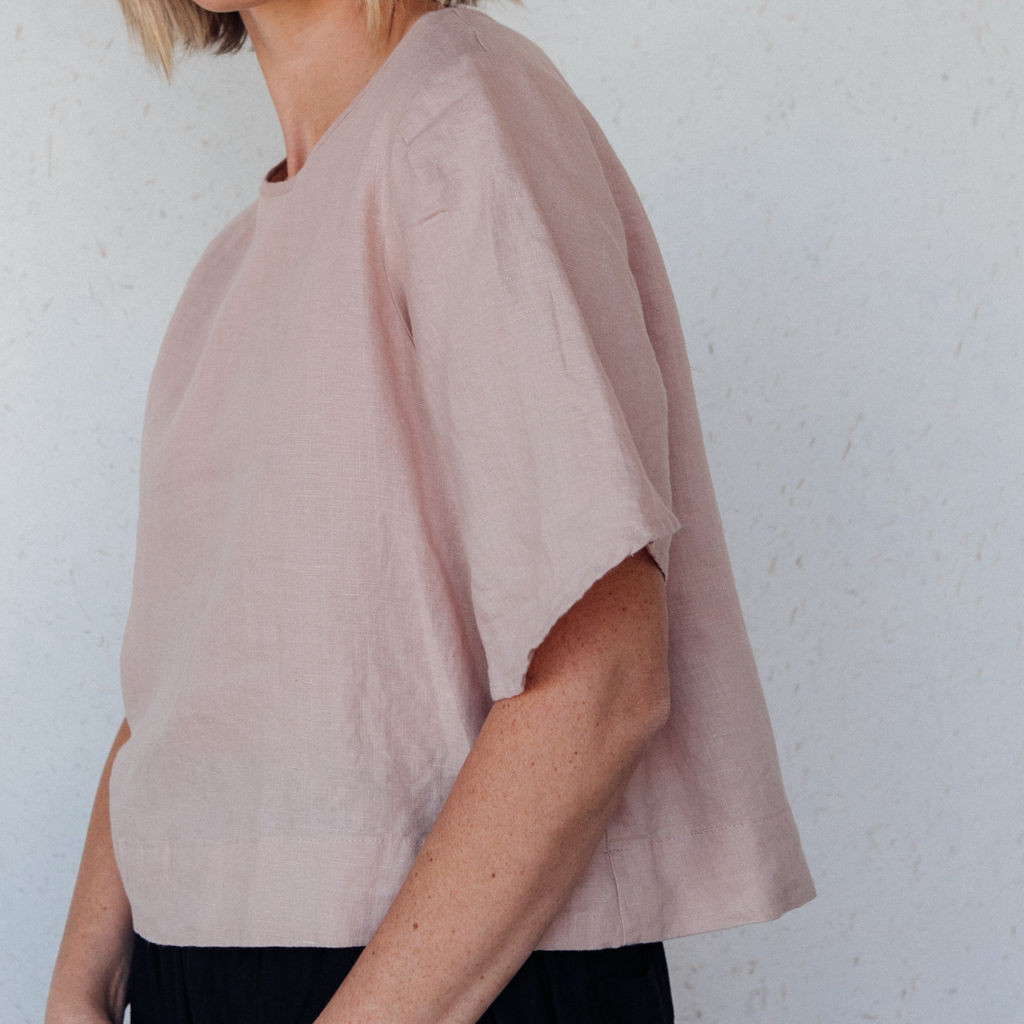 Sugar Candy Mountain : The Lily Top in Rose