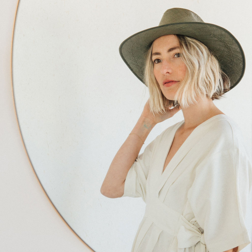 Brookes Boswell : Savoy Panama Straw Hat in Forest