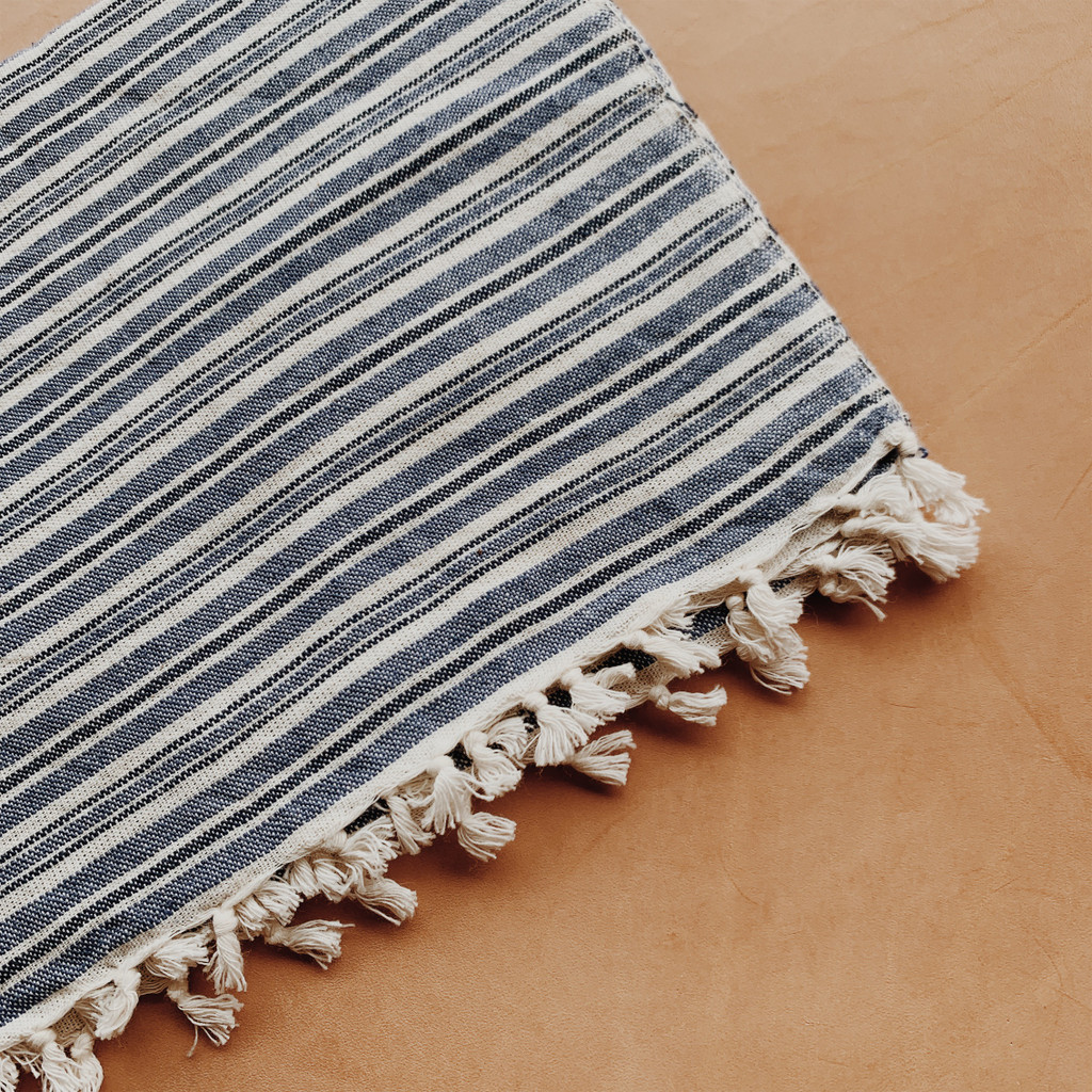 Heather Taylor Home : Linen Tea Towel in Chambray
