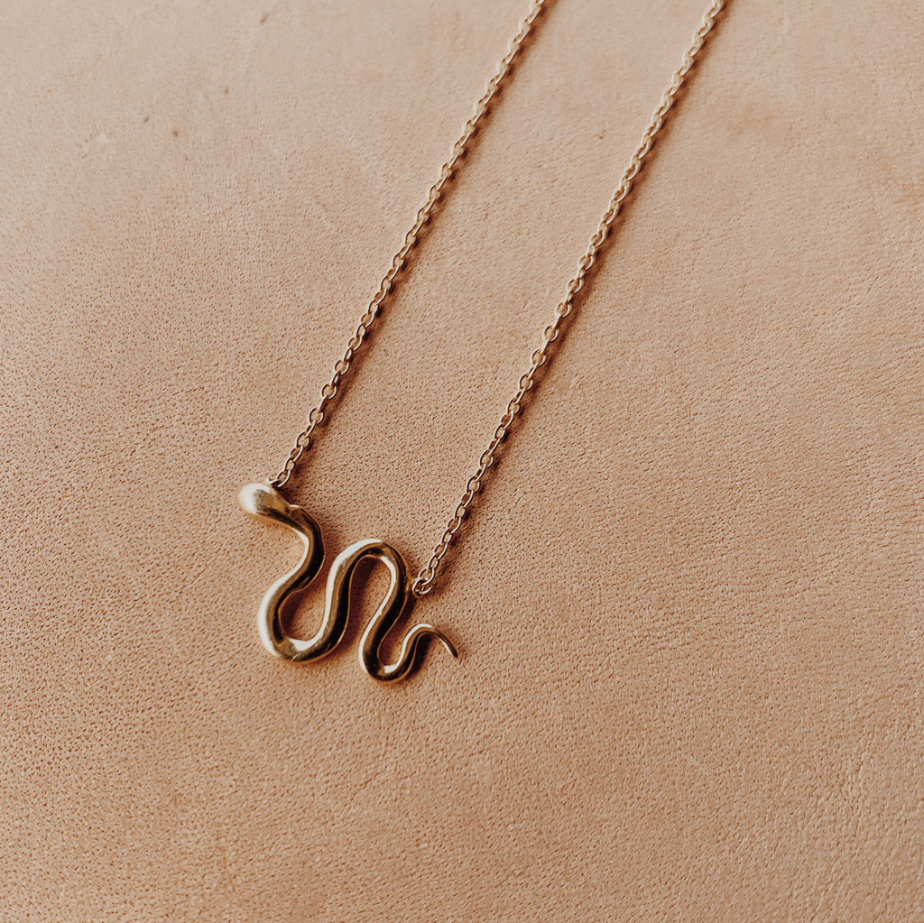 Ariel Gordon : Snake Charm Necklace