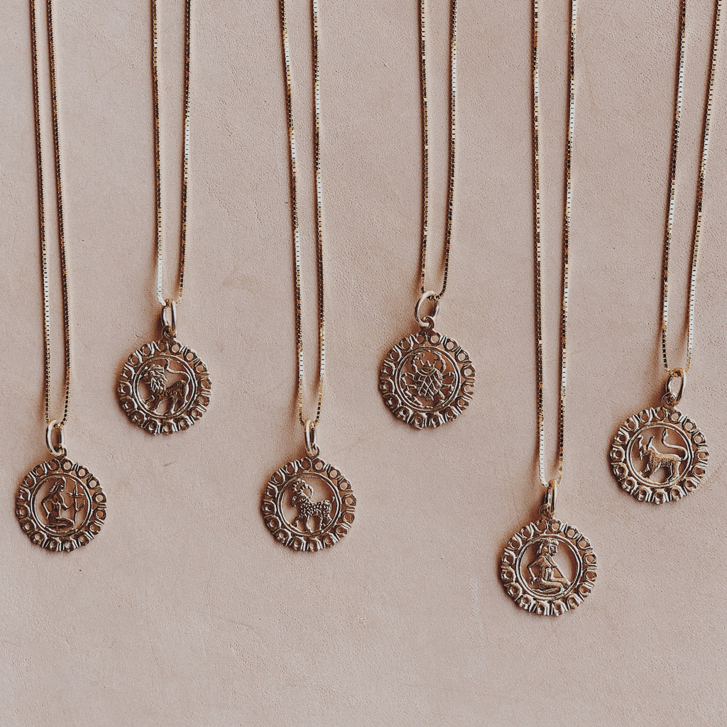 Maya Brenner : Zodiac Necklace