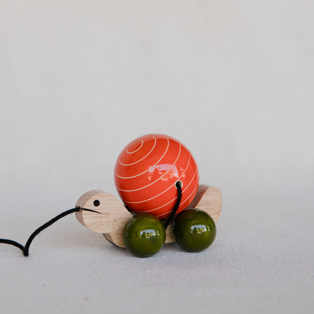 Baby Baazaar: Tuttu Turtle Wood Toy