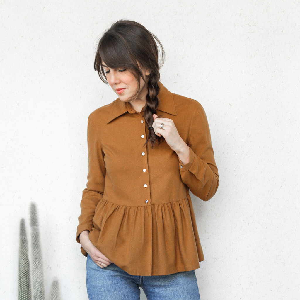 Town Clothes : Kathleen Shirt