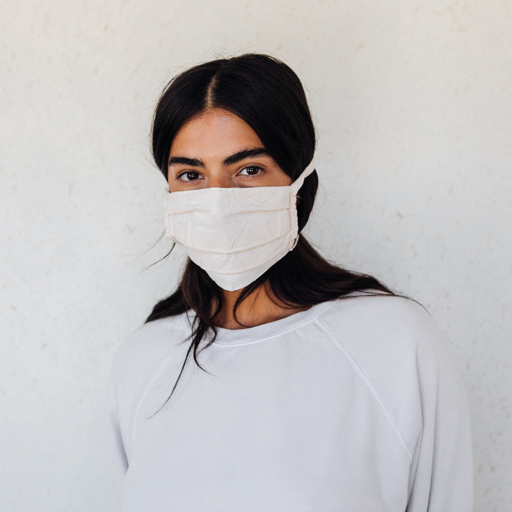 Merna Maita : Cotton Muslin Mask