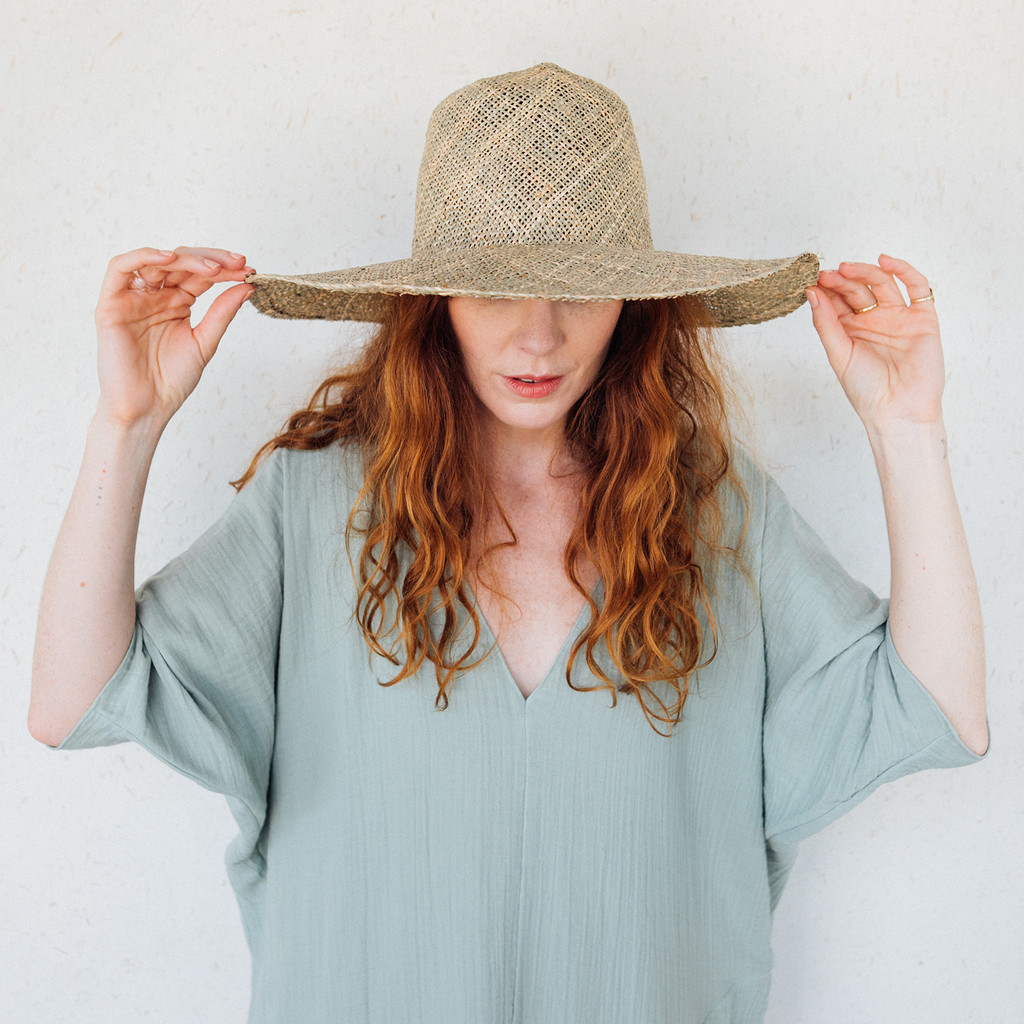 Brookes Boswell : Optimo Hat in Seagrass