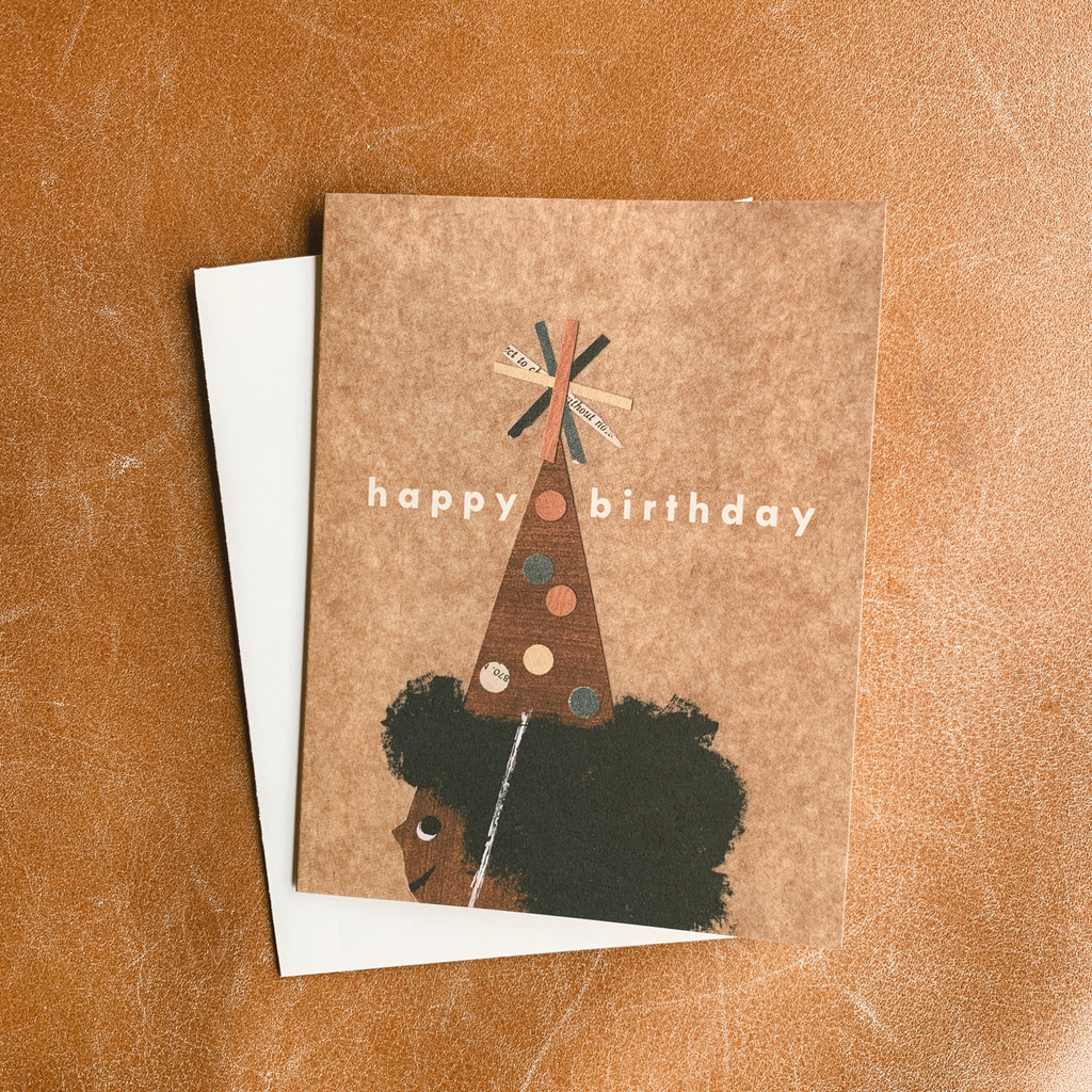 Red Cap Cards : Birthday Hat by Christian Robinson