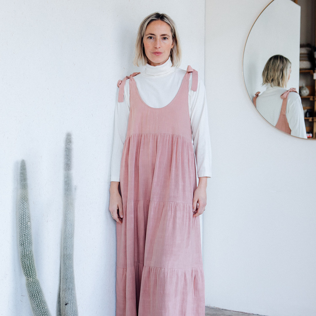 Rachel Pally : Linen Adelaide Dress in Earth